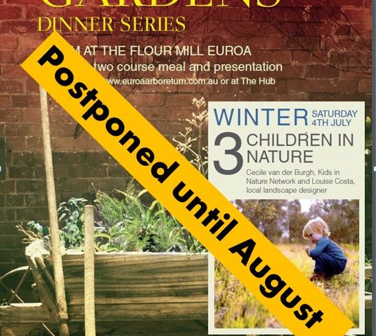 Children in Nature dinner talk postponed